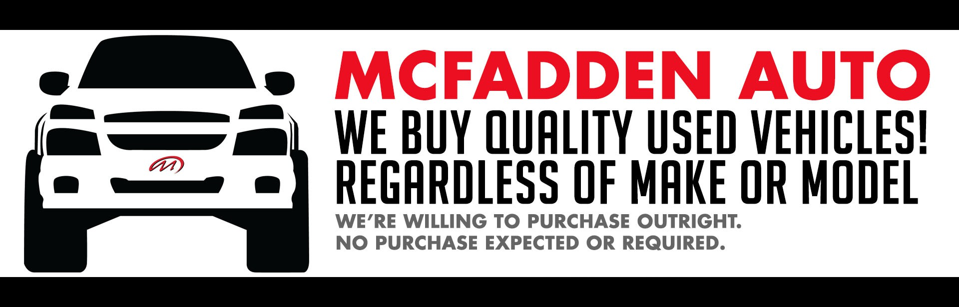 McFadden Auto - We buy used Vehicles - Nov 2017
