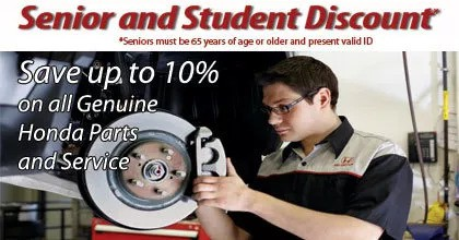 Senior and Student Discount
